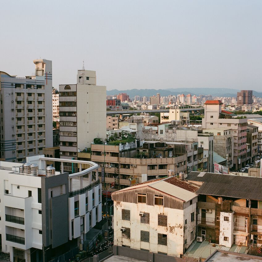 Skyline of Taichung